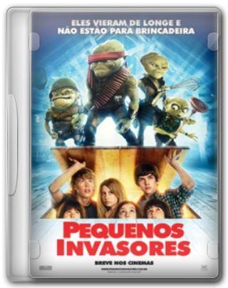 Capa do Filme Pequenos Invasores