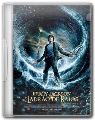 Capa do Filme Percy Jackson e o Ladrão de Raios