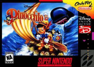 Pinocchio SNES ROMS