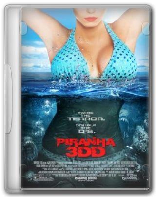 Capa do Filme Piranha 3DD