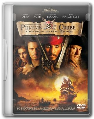 Capa do Filme Piratas do Caribe A Maldicao do Perola Negra