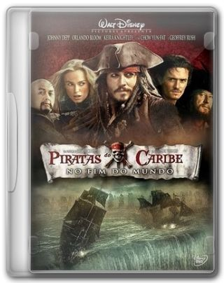Capa do Filme Piratas do Caribe No Fim do Mundo