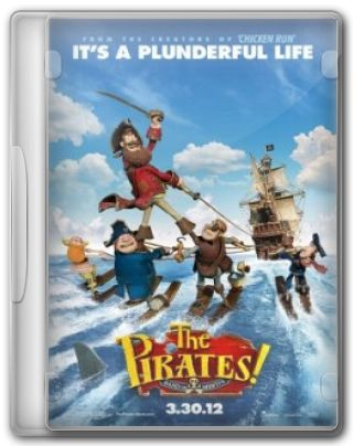 Capa do Filme The Pirates! Band of Misfits