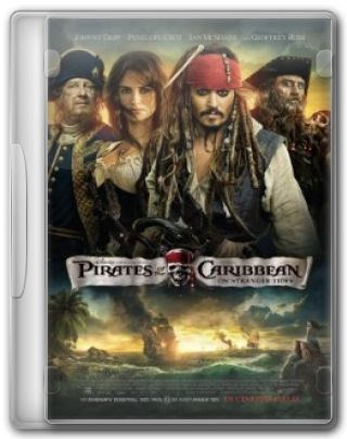 Capa do Filme Piratas do Caribe: Navegando em Águas Misteriosas