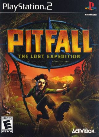 Capa Jogo Pitfall The Lost Expedition PS2
