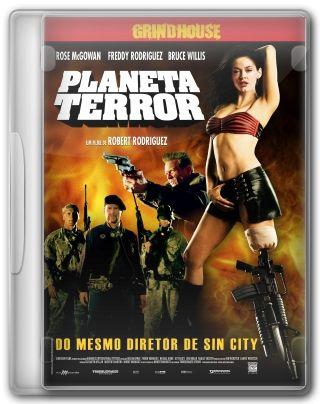 Capa do Filme Planeta Terror