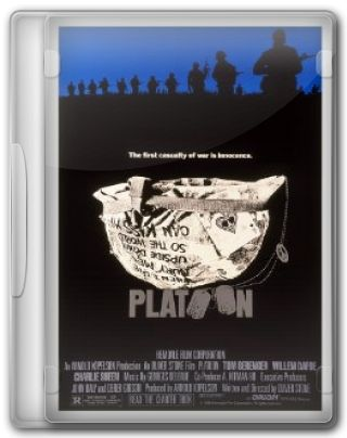 Capa do Filme Platoon