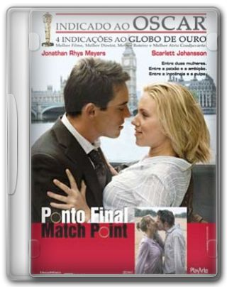 Capa do Filme Ponto Final Match Point