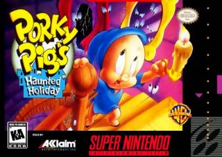 Porky Pigs Haunted Holiday SNES ROMS