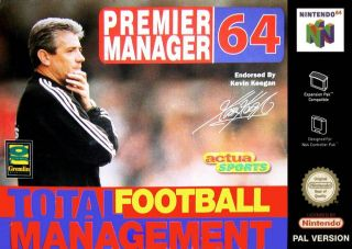 Premier Manager 64 Europe