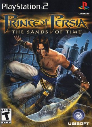 Capa Jogo Prince of Persia Sands of Time PS2
