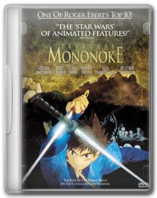 Capa do Filme Princesa Mononoke
