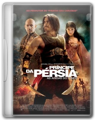 Capa do Filme Príncipe da Pérsia As Areias do Tempo