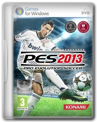 Capa Jogo Pro Evolution Soccer 2013 PC