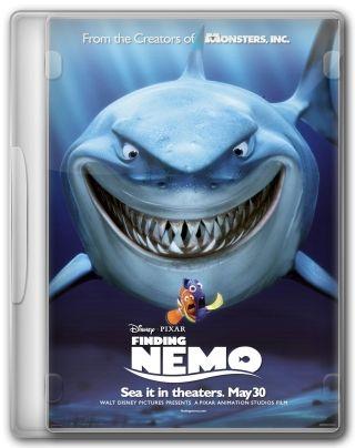 Capa do Filme Procurando Nemo