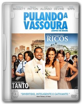 Capa do Filme Pulando a Vassoura