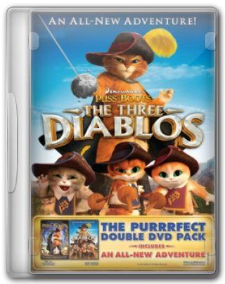 Capa do Filme Gato de Botas e Os Três Diabos