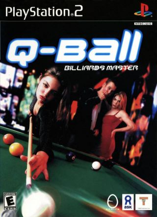 Capa Jogo Q-Ball Billiards Master PS2