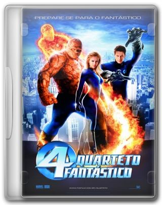 Capa do Filme Quarteto Fantástico