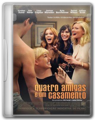 Capa do Filme Quatro Amigas e um Casamento