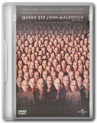 Capa do Filme Quero Ser John Malkovich