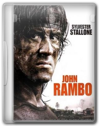 Capa do Filme Rambo 4