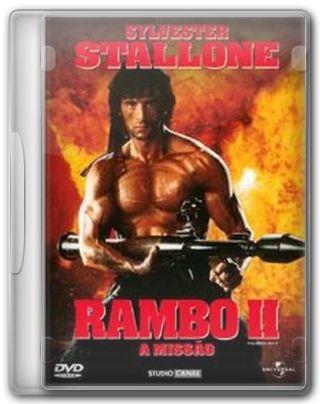 Capa do Filme Rambo II A Missão