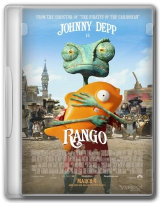 Capa do Filme Rango
