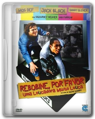 Capa do Filme Rebobine, Por Favor