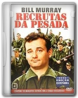 Capa do Filme Recrutas da Pesada