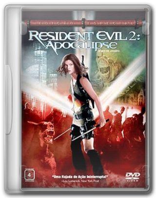Capa do Filme Resident Evil 2 Apocalipse