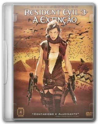 Capa do Filme Resident Evil 3 - A Extinção