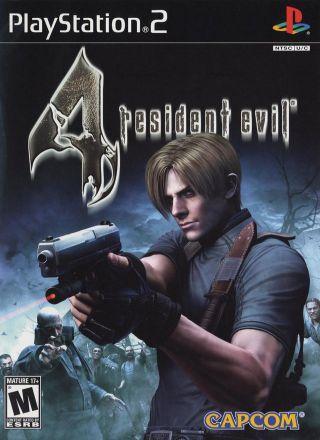 Capa Jogo Resident Evil 4 PS2