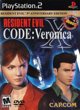 Capa Jogo Resident Evil CODE Veronica X PS2