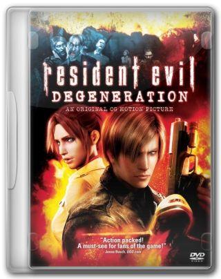 Capa do Filme Resident Evil Degeneração