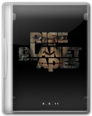 Capa do Filme Planeta dos Macacos: A Origem