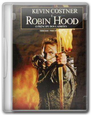 Capa do Filme Robin Hood: O Príncipe dos Ladrões