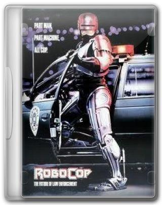 Capa do Filme RoboCop O Policial do Futuro