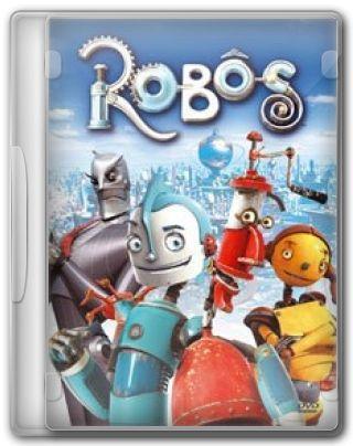 Capa do Filme Robôs
