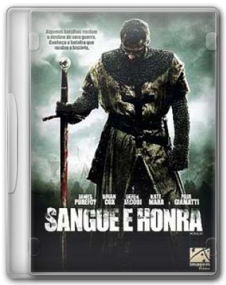 Capa do Filme Sangue e Honra