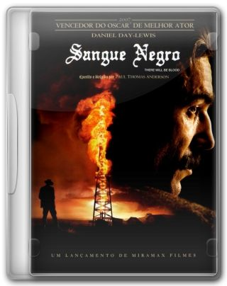 Capa do Filme Sangue Negro