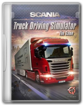 Capa Jogo SCANIA Truck Driving Simulation PC