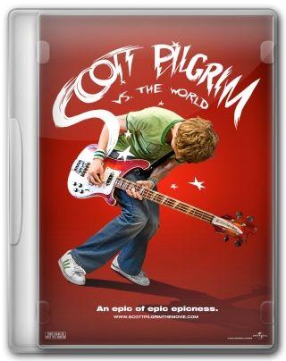 Capa do Filme Scott Pilgrim Contra o Mundo