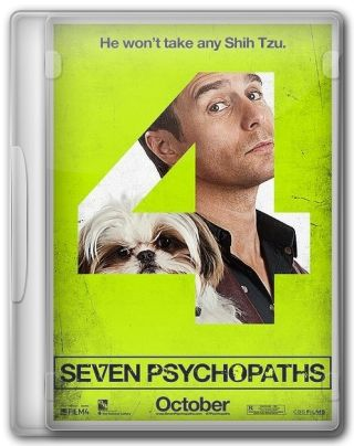 Capa do Filme Seven Psychopaths