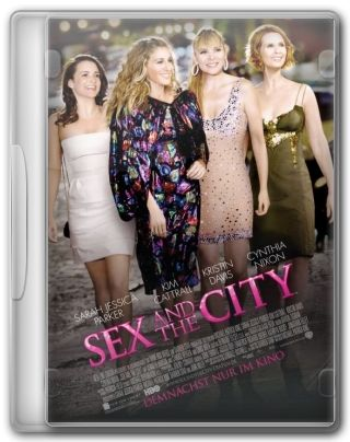 Capa do Filme Sex and the City O Filme