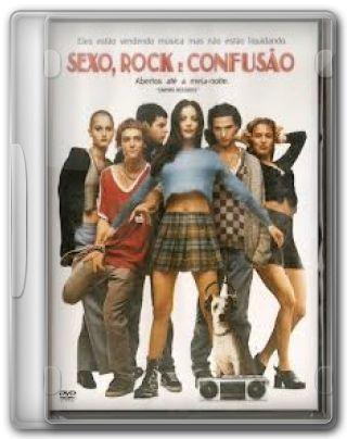 Capa do Filme Sexo, Rock e Confusão