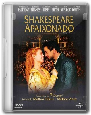Capa do Filme Shakespeare Apaixonado