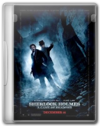 Capa do Filme Sherlock Holmes A Game of Shadows