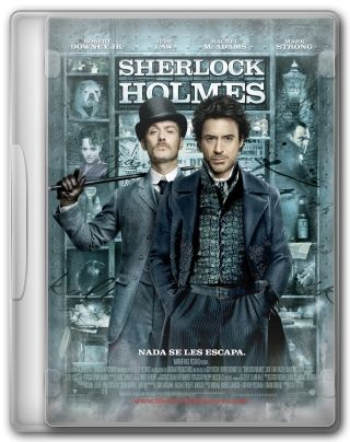 Capa do Filme Sherlock Holmes