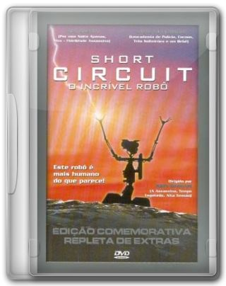 Capa do Filme Short Circuit: O Incrível Robô